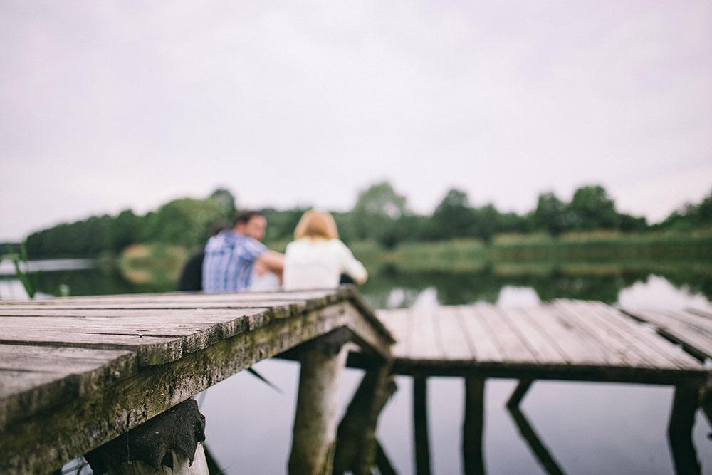 Una passeggiata al molo o al porto